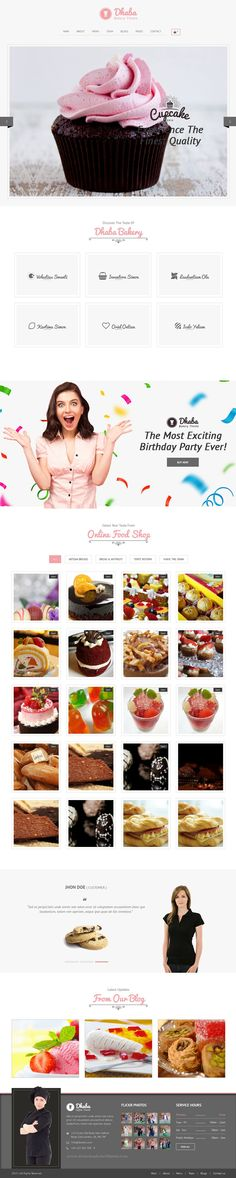 Dhaba is a fully responsible #WordPress template designed for restaurants, #bakeries and coffee shops #website. It is extremely clean with 3 different homepages.