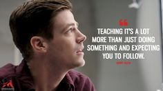 The Flash Quotes - MagicalQuote Hero Quotes, Fact Quotes, The Flash Quotes, Flash Funny, Flash Wallpaper, The Flash Grant Gustin, The Flash Season, Snowbarry, Superhero Memes