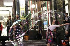 Alegria bubble show  SPETTACOLO BOLLE DI SAPONE