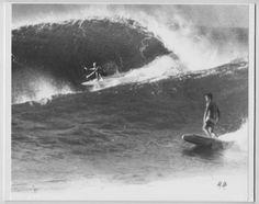 "40 FOOT WAIMEA BAY MARK FOO ORIGINAL 1990 PRINTED BY PHOTOGRAPHER ON 8X10/"" MAT"