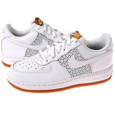 NIKE AIR FORCE1 PS Little Kids 314193-995 WHITE Athletic Shoes SZ-10.5