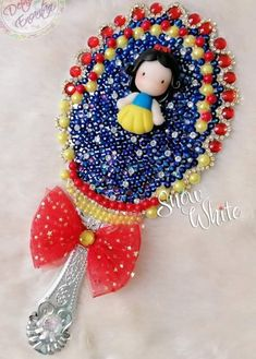 Pasta Flexible, Disney Junior, Biscuit, Polymer Clay, Unicorn, Christmas Ornaments, Holiday Decor, Snow White, Accessories