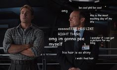 Coulson: the ultimate fangirl