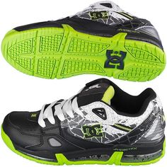 Sneaker DC Shoes Versaflex Ken Block black/lime