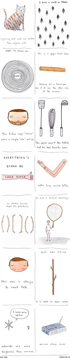 Marc Johns Illustrations   //   FOXINTHEPINE.COM