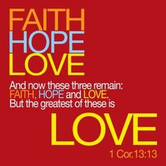 ♥ this! 3 of my favorite words..but L♥ve is the greatest of these!=)