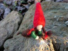 Waldorf Gnome Doll  Needle Felted Doll Waldorf by TheWanderingEwe, $12.00