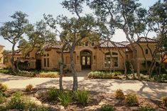tuscan style one story homes | Mediterranean Tuscan Home Exterior (El Dorado CA)