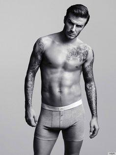 David Beckham. Yum.