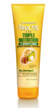 Favorite Find Friday: Garnier Fructis Triple Nutrition 3-Minute Undo Dryness Reversal Treatment | Fitness Magazine