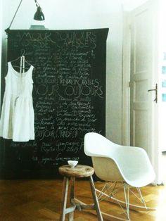 #blackboard paint