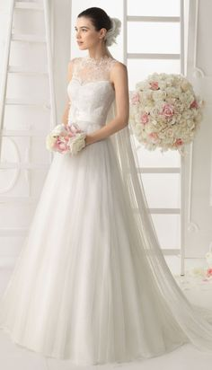 Aire Barcelona 2014 Bridal Collection - Belle the Magazine . The Wedding Blog For The Sophisticated Bride
