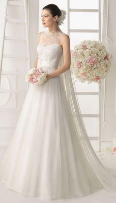 Aire Barcelona 2014 Bridal Collection | bellethemagazine.com