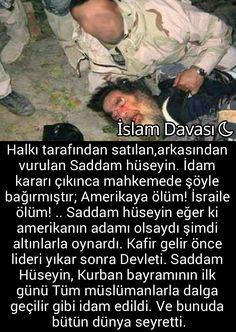 Ve biz müslümanız diyen fitne kendilerinden çıkan arap ülkeleri bunu izlemekle yetinip gavurun lafıyla yatıp kalkarlar... Open Your Eyes, Islam, Knowledge, Study, Sport, History, Pictures, Quotes, Studio