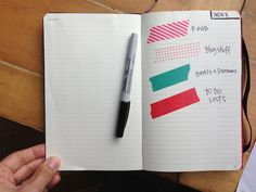 Creative and useful notebook tips. high straightenence // tracy shutterbean