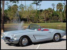 S252 1962 Chevrolet Corvette Convertible 327/300 HP, Automatic Photo 1