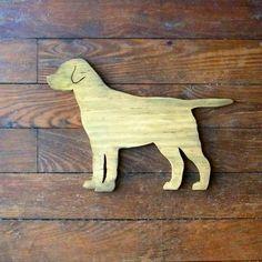lab dog sign -- would get pink version