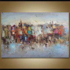 Extra Large Abstract Art Original Art Abstract Canvas Art