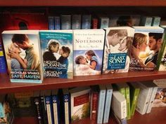 This person who's a fan of White People Kissing by Nicholas Sparks.