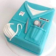 Dentists Cake  Great Photo by @dr_donart  Follow him for more dental photos  Tag your friends  by dentistrymyworld