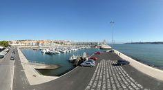 360º Virtual Visit to Doca do Bom Sucesso, Portugal - via www.visitasvirtuais.com