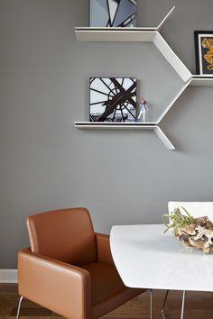 BoConcept shelves & Nomi chair