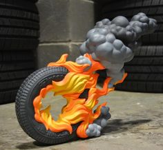 "SpankyStokes.com | Vinyl Toys, Art, Culture, & Everything Inbetween: ToyQube x Harma Heikens - ""Firestarter"" resin art multiple up for pre-order!!!"