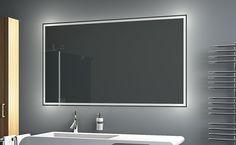 LED Badezimmerspiegel BADSPIEGEL Wandspiegel Bad Spiegel Lichtspiegel LEO (B:90 x H: 70 cm): Amazon.de: Küche & Haushalt Led, Bathroom Lighting, Mirror Glass, Furniture, Salons, Home Decor, Household, Bathing, Bathroom Light Fittings
