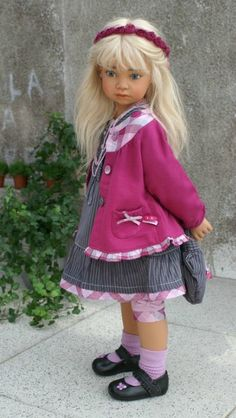 """Fiona"" doll by Angela Sutter"