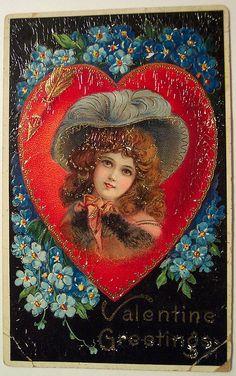 Vintage Valentine's Day Postcard