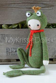 Ravelry: Krissie the Frog King pattern by My Krissie Dolls