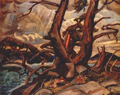Arthur Lismer - Member of the Group of Seven, Canadian Painters - The Art History Archive Group Of Seven Artists, Group Of Seven Paintings, Canadian Painters, Canadian Artists, Emily Carr Paintings, Tom Thomson, Modern Artists, Tree Art, Art History