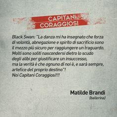 Matilde Brandi per Capitani coraggiosi