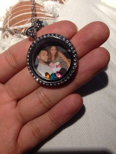 Family Locket with our birthstones