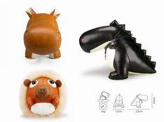 züny - leather animals