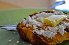 Cake French Toast by hey what's for dinner mom? dry cake? don't throw it out recycle it!