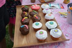 Fairy cakes and lost boy cakes