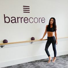 Was lovely having the beautiful @lilfortescue in the studio before her Cheekfrills takeover at @aylaroseuk this afternoon! She also looks amazing in her @varleylondon outfit! #cheekfrills #barrecore #aylarose #varley #abs #lilyfortescue