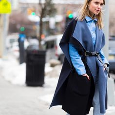 Pernille Teisbæk during #MBNYFW #FW15 now online. #catchatrend