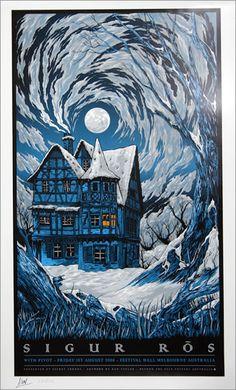 Sigur Ros, Australian Tour Poster, Australia, poster, Beyond The Pale, TPOSTROS, 452758