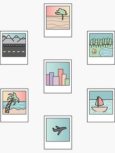 15 Beautiful Easy Drawing Ideas // Polaroid drawing space doodle, outdoors drawing, things to draw, drawing ideas Mini Drawings, Doodle Drawings, Doodle Art, Beautiful Easy Drawings, Cute Easy Drawings, Colorful Drawings, Simple Doodles, Cute Doodles, Printable Stickers