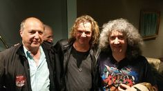 Clive & Max catching up with Billy on the Yes UK tour 2016.
