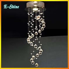 Find More Chandeliers Information about Modern LED K9 Crystal Chandelier Spiral Lustre de Crystal Ceiling Flush mount Pendant lamp Lighting Fixture Porch Lamp,High Quality k9 electronics,China k9 keyboard Suppliers, Cheap k9 steel from Zhongshan East Shine Lighting on Aliexpress.com