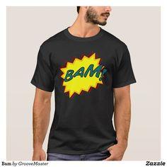 Bam T-Shirt POW BAM BANG ZAP comics comic book