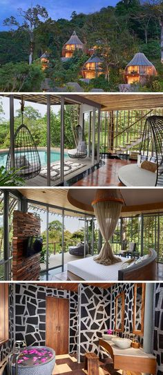 Travel Idea - At the Keemala Resort in Thailand, this private villa has a pool, a spa like bathroom, and incredible panoramic views give guests an opportunity to unwind and get closer to nature while still enjoying the luxuries of a resort stay.