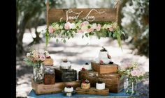 Cheese table rustic