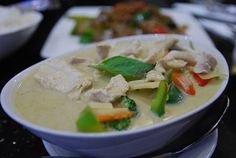 chicken coconut milk soup- vata- protein