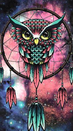 Owls are very majestic. Owl Wallpaper Iphone, Cute Owls Wallpaper, Tier Wallpaper, Cute Wallpaper Backgrounds, Animal Wallpaper, Galaxy Wallpaper, Ovo Wallpaper, Dreamcatcher Wallpaper, Owl Artwork