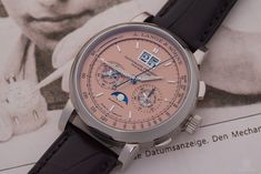 Lange & Söhne celebrates two important anniversaries this year and introduced novelties on the occasion, including LANGE 1 Anniversary. German Reunification, Pink And Gold, White Gold, 25th Anniversary, Geneva, Solid Gold, Luxury Watches, 25 Year Anniversary