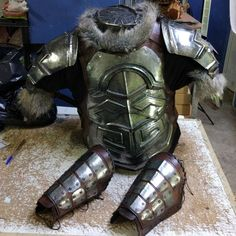 Ancient armor. Viking Armor, Ancient Armor, Larp Armor, Fantasy Armor, Fantasy Weapons, Character Art, Character Design, Costume Armour, Armor Clothing